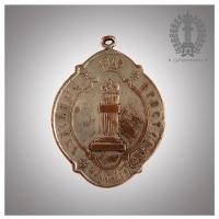 12. Должностной подвесной знак (бляха)  судебного пристава. Коллекция И.Б.Бушманова
