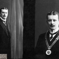 Мировой судья барон Фрезен.  1914г. ЦГАКФФД СПб.
