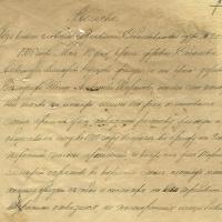 3. Выписка из книги словесных заявлений Соболевского волостного суда от 15 мая 1905 г.
