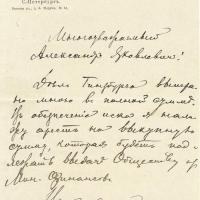 14. Письмо присяжного поверенного И.М. Рабиновича от 04.11.1893 г.