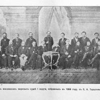 Первый состав московских мировых судей (1866 г.)