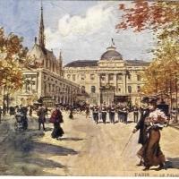 7. Дворец правосудия в Париже (Франция)