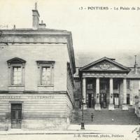 10. Дворец правосудия в Пуатье  (Франция)