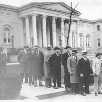 2. Коллегия присяжных в перерыве заседания (1928 г.)