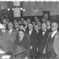 4. Присяжные Большого Жюри получают инструкцию от судьи (1926 г.)