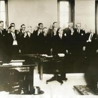 5. Приведение присяжных к присяге по делу об убийстве (1929 г., Детройт)