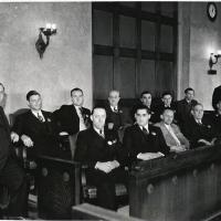 10. Жюри присяжных по делу об убийстве жены (1938 г., Чикаго)