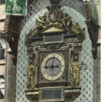 24. Часы на дворце правосудия в Париже (Франция)