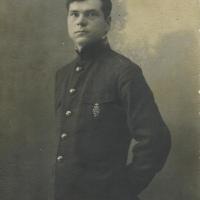 Неизвестный со знаком 50-летнего юбилея Уставов (Приморье, 1921 г.)