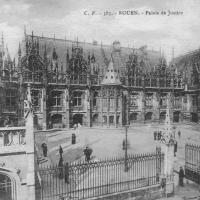 1. Дворец правосудия в Руане