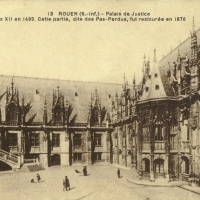 3. Дворец правосудия в Руане