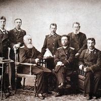 Судьи Вятского окружного суда, 1899 год.